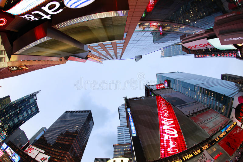 Times Square. New York City royalty free stock images