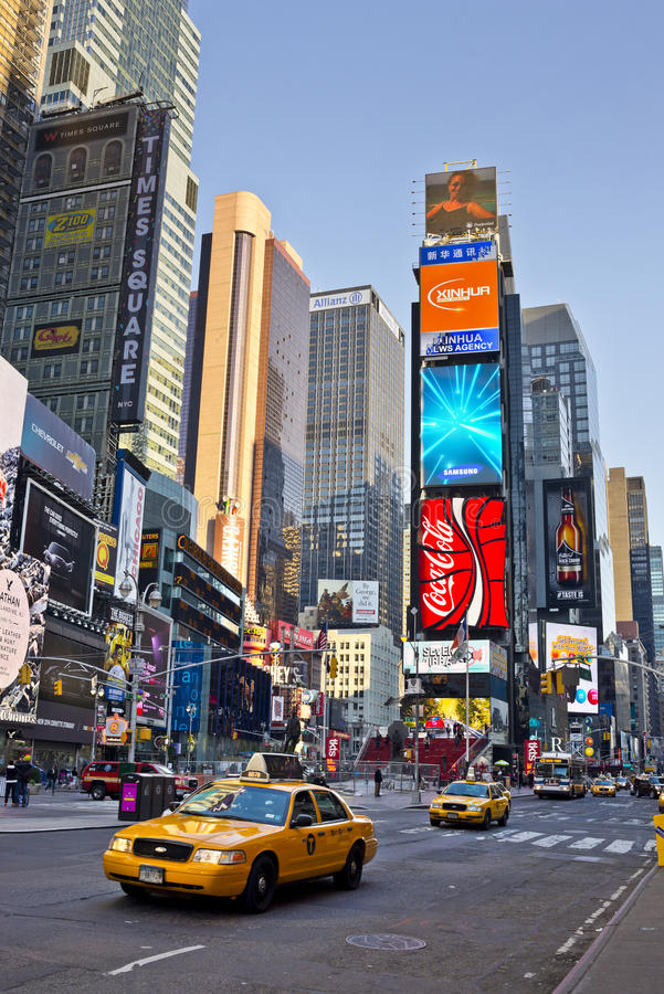 Free Times Square New York City Stock Image - 35328251