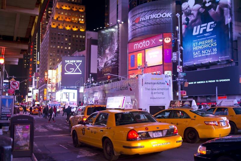 Times Square New York City stockbilder