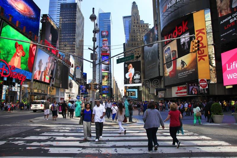 Times Square New York City foto de archivo