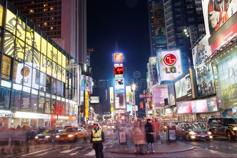 Times Square New York City fotografie stock