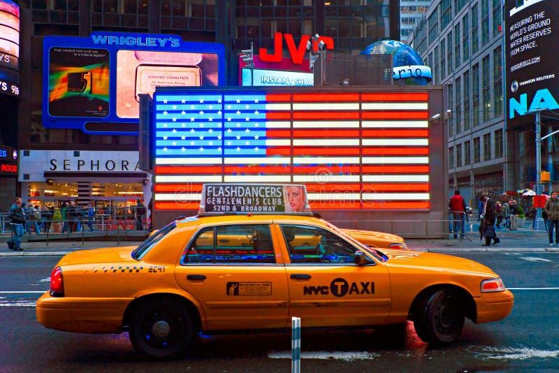 Times Square, New York City, Etats-Unis. images libres de droits
