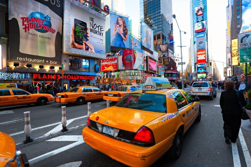 Times Square, New York City, los E.E.U.U. imagen de archivo
