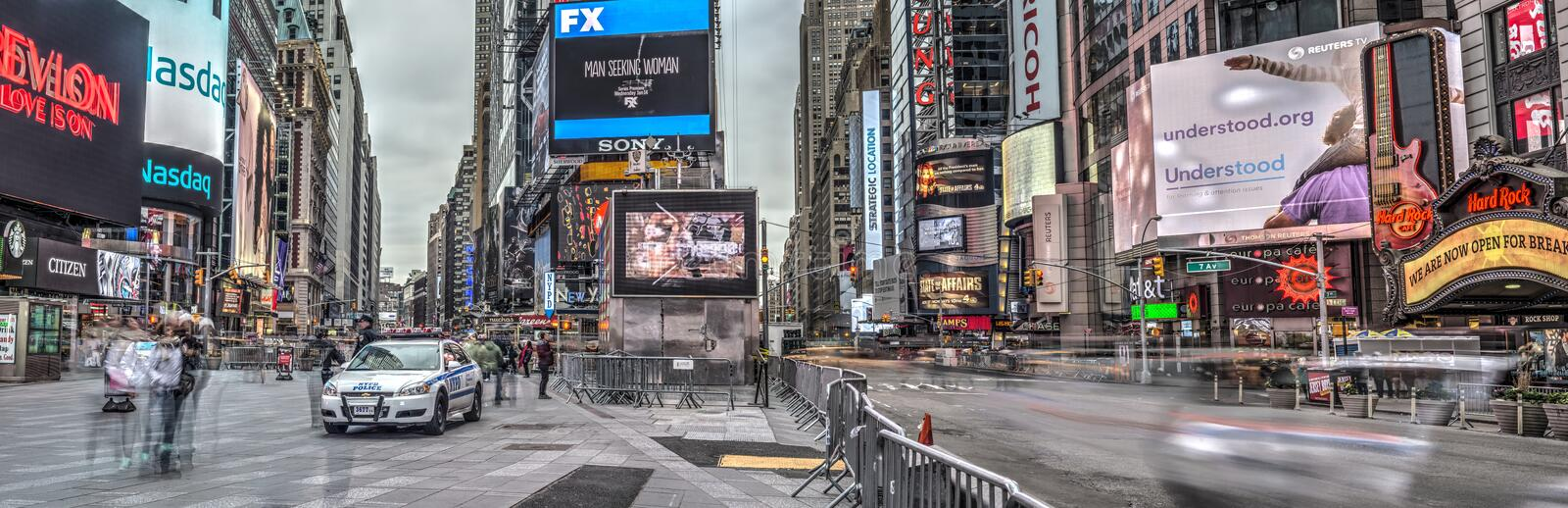 Times Square, New York City, Manhattan images stock