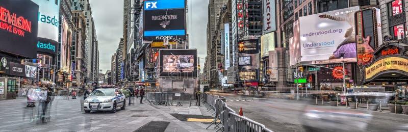 Times Square, New York City, Manhattan stockbilder