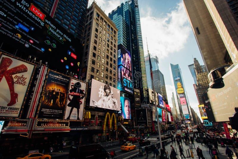 Times Square, New York Free Public Domain Cc0 Image