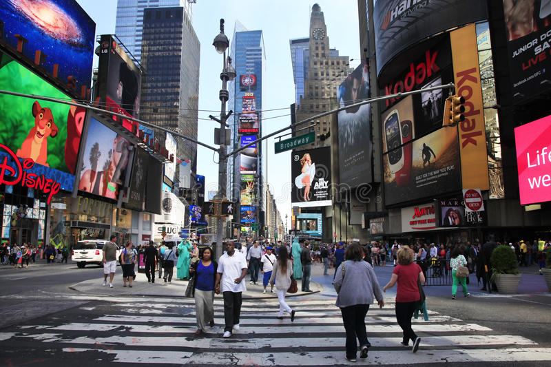 Times Square. New York City royalty free stock image