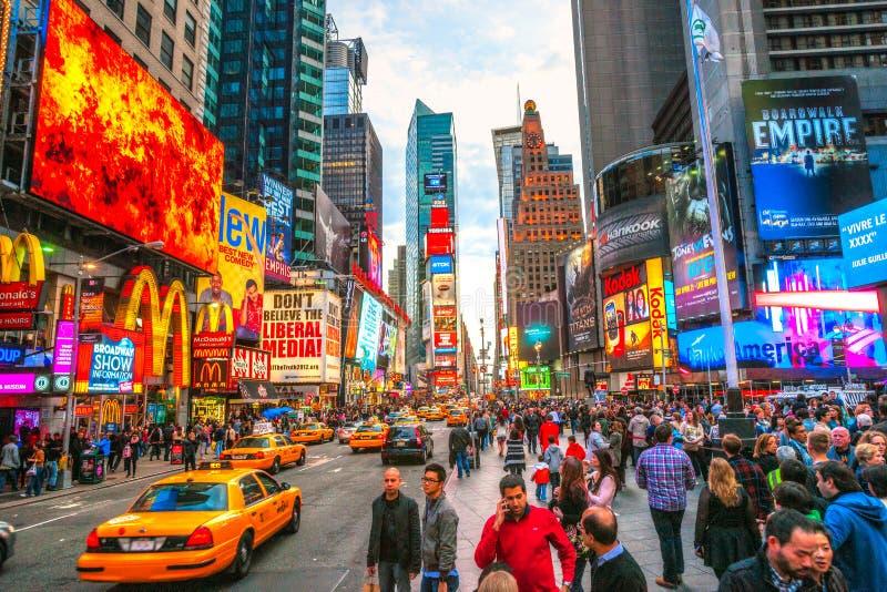 Times Square, New York City, USA royalty free stock photo