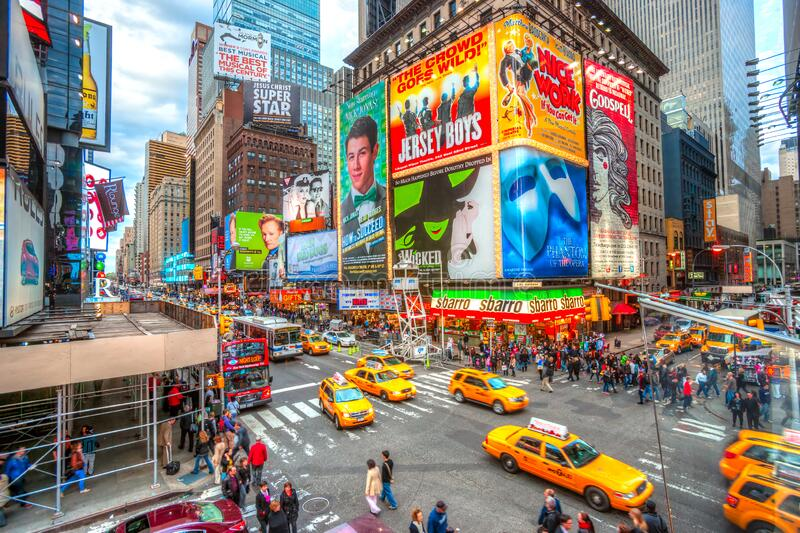 Times Square, New York City, USA stock photography