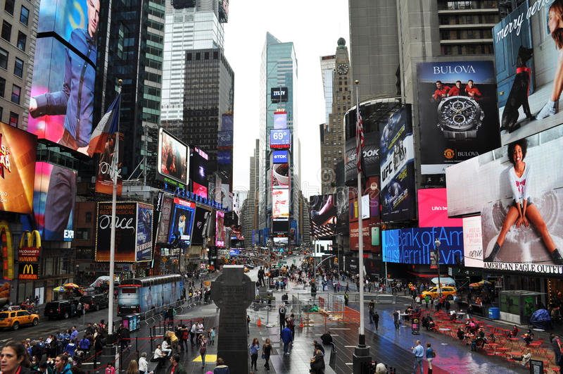 Times Square New York. An image of Times Square in New York City royalty free stock images