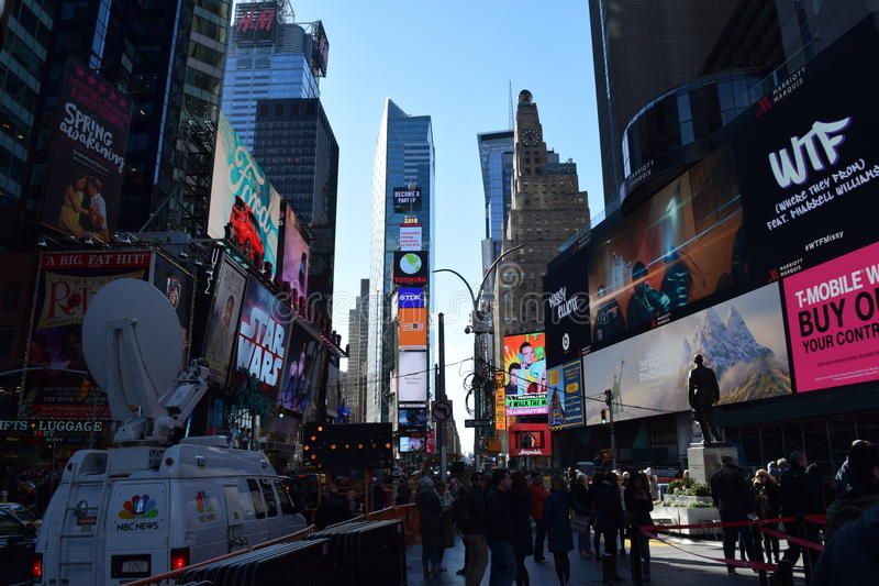 Times Square New York, NY royalty free stock photography