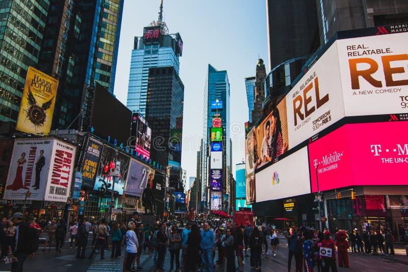 Times Square lizenzfreie stockfotos