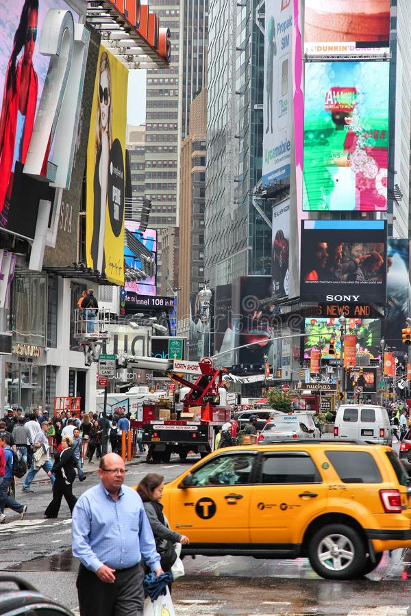 Times Square royalty free stock image