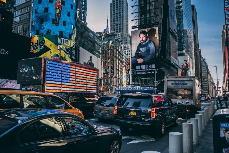 Times Square novo de Yorke foto de stock royalty free