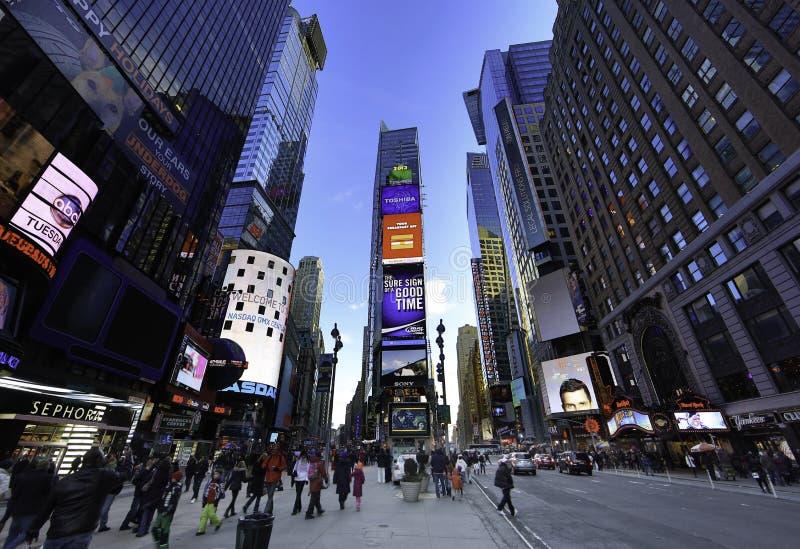 Times Square Nowy Jork fotografia stock