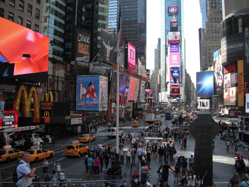 Times Square - Nowy Jork obrazy royalty free