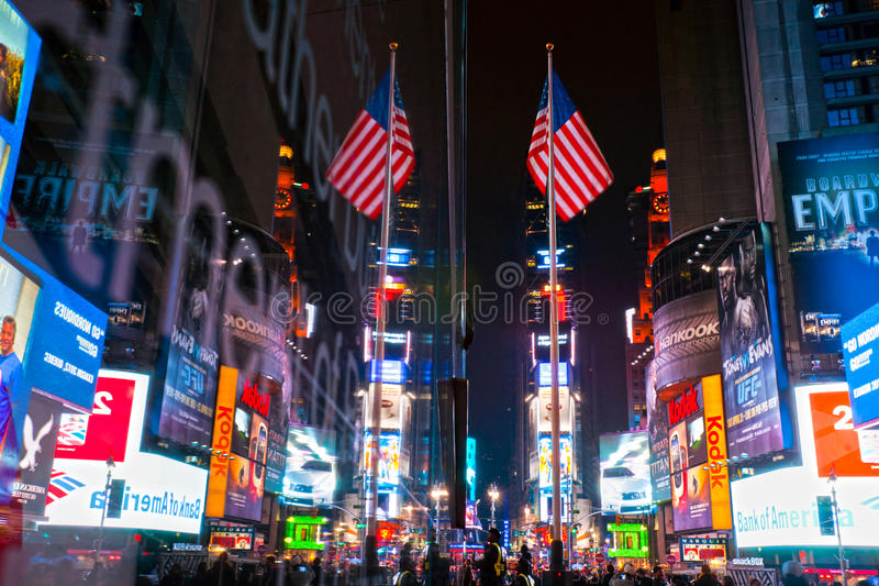 Times Square, Nowy Jork, USA. obraz royalty free