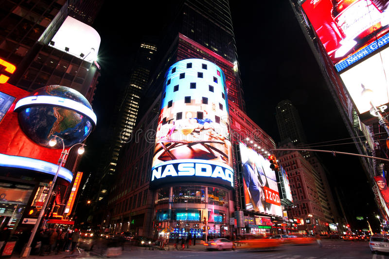 Times Square, Nueva York foto de archivo