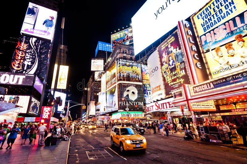 Times Square, Nueva York fotografía de archivo