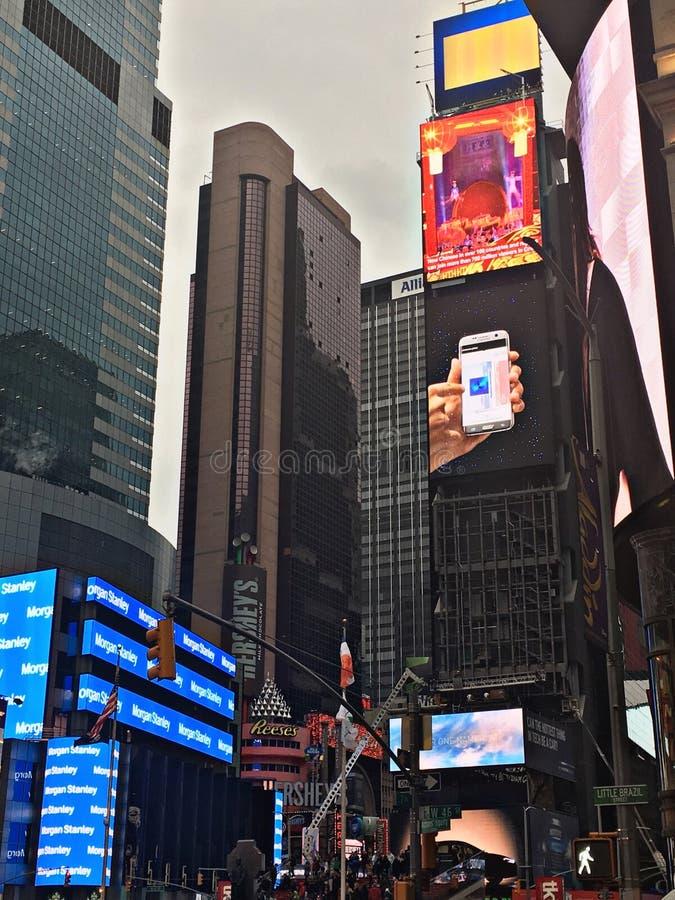 Times Square nya Yrok royaltyfria bilder