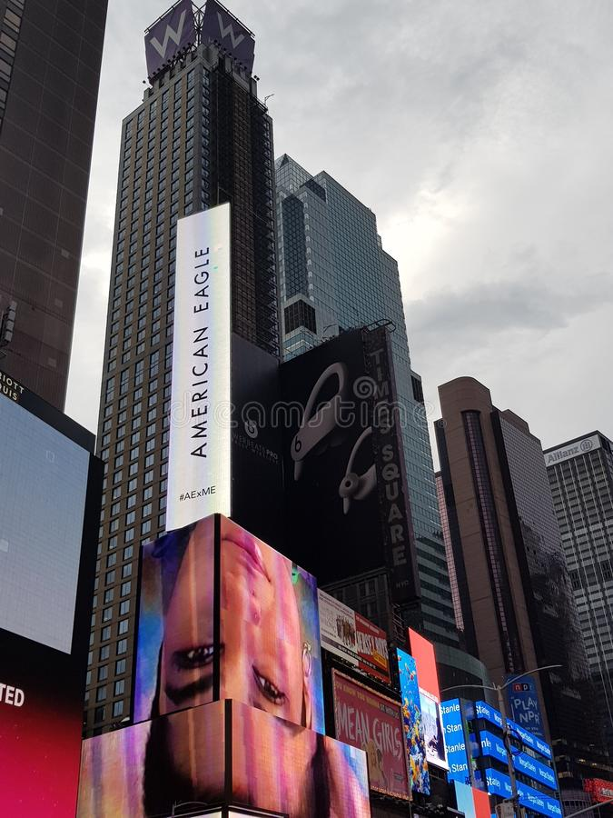 Times Square NYC,USA royalty free stock image