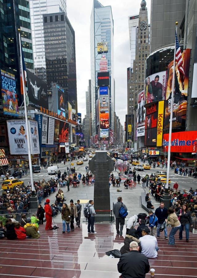 Times Square-Panorama stockfoto