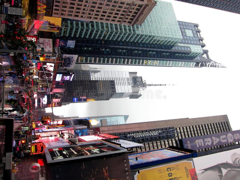 Download Times square in rain editorial photography. Image of billboard - 21698047