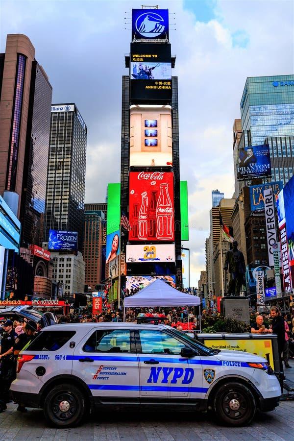 Times Square w Manhattan, Miasto Nowy Jork, usa zdjęcia stock