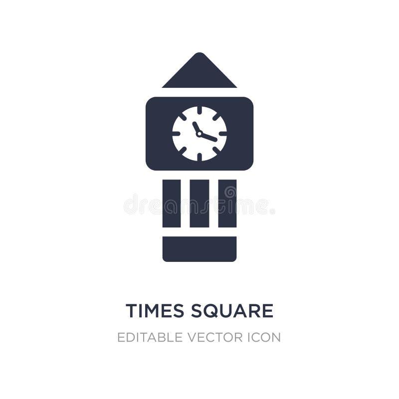 Times- Squareikone auf weißem Hintergrund Einfache Elementillustration vom Werkzeug- und Gerätkonzept stock abbildung