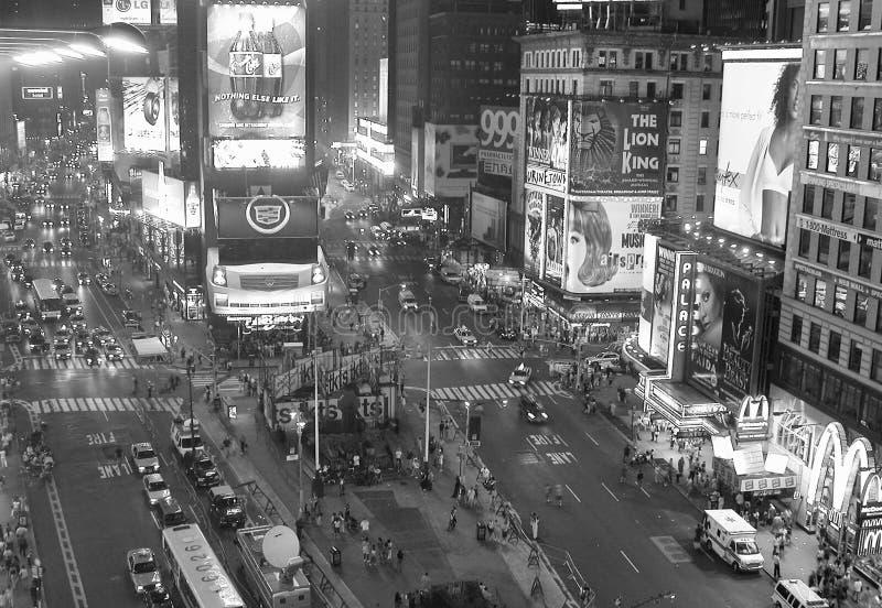 Times Squarelichten, de Stad van New York royalty-vrije stock fotografie