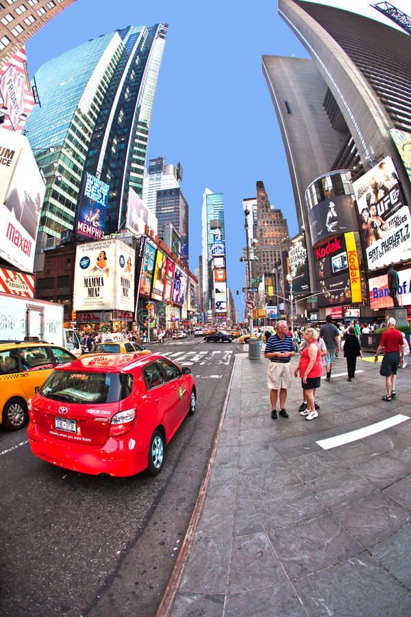 Times Squares  is a symbol of New York