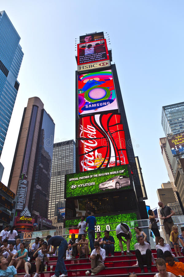 Download Times Squares  Is A Symbol Of New Editorial Stock Image - Image: 34272599