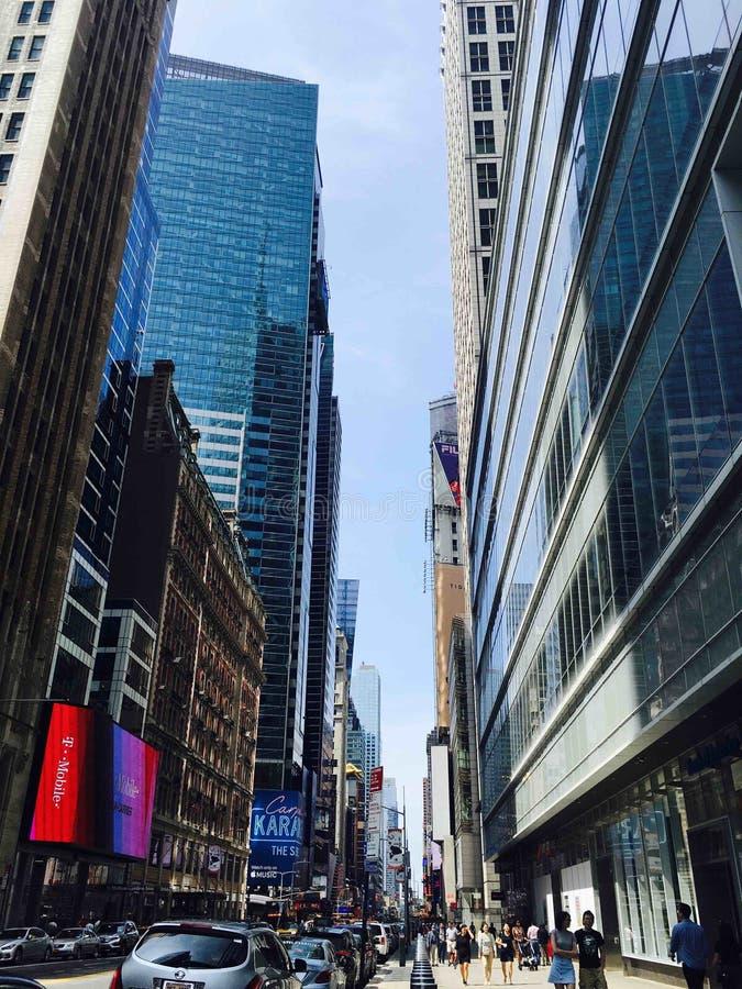 Timesquare NYC стоковые изображения