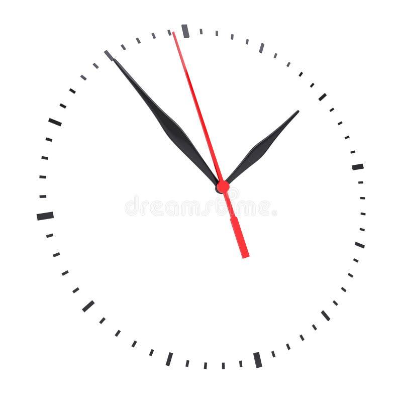 Timestamp bez liczb i zegar ilustracja wektor