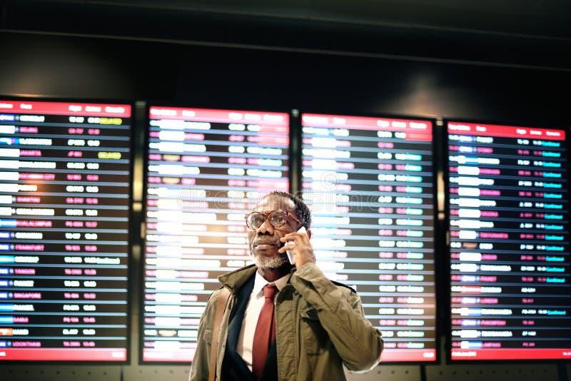 Timetable Business Travel Arrival Departure Trip Concept stock photo