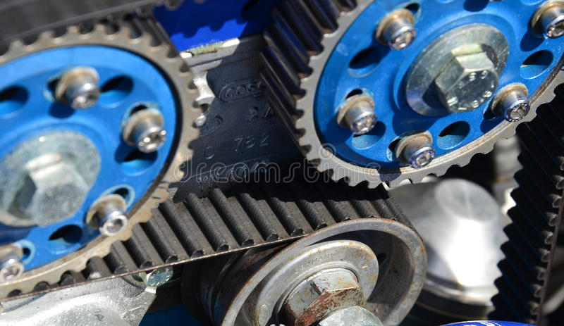 Timing belt royalty free stock images
