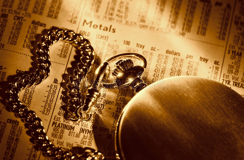 Timing de Markt stock fotografie