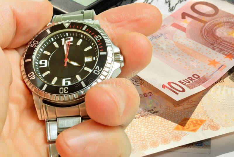 Timing van een beurs. stock afbeeldingen