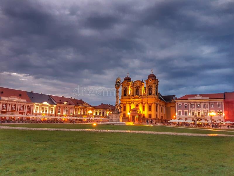 Timisoara city. Timisoara beautiful city royalty free stock images