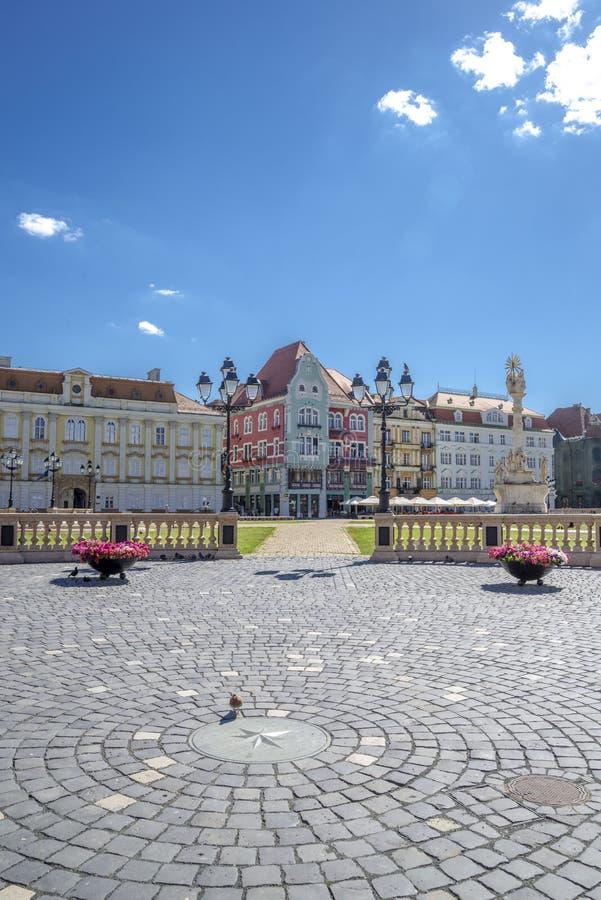 Timisoara beautiful town in Romania. The city centre of beautiful town in Romania - Timisoara stock photos