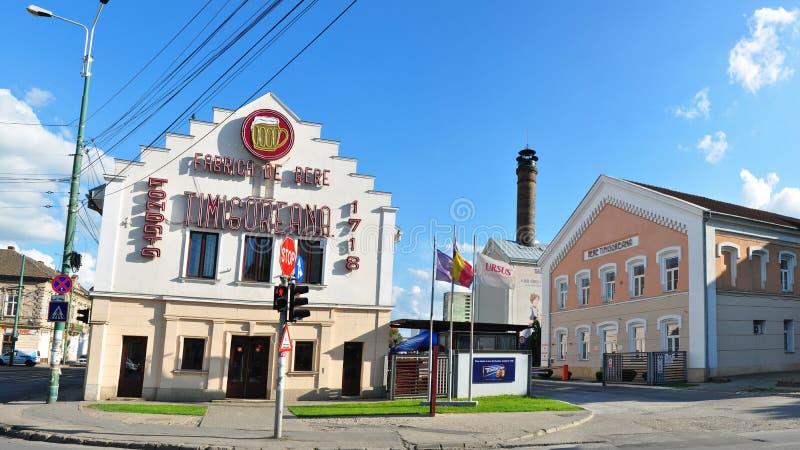 Timisoara beer factory. TIMISOARA ROMANIA beer factory architecture editorial royalty free stock photos