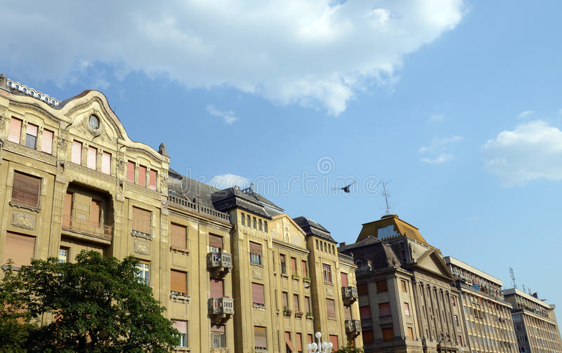 Download Timisoara center art stock photo. Image of tower, building - 25592204