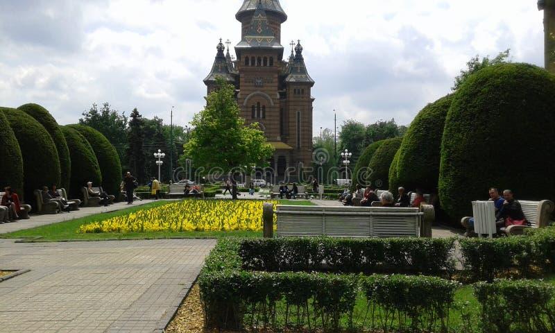 Timisoara central Roumanie images stock