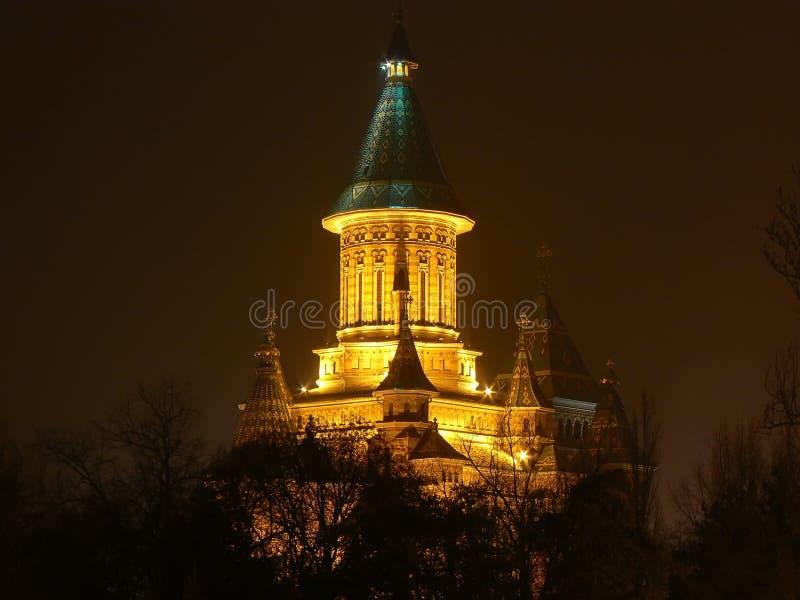 Timisoara da catedral de Mitropolitan fotos de stock royalty free