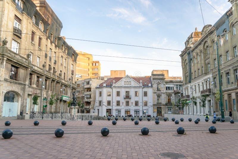 Timisoara mooie stad in Roemenië stock afbeeldingen