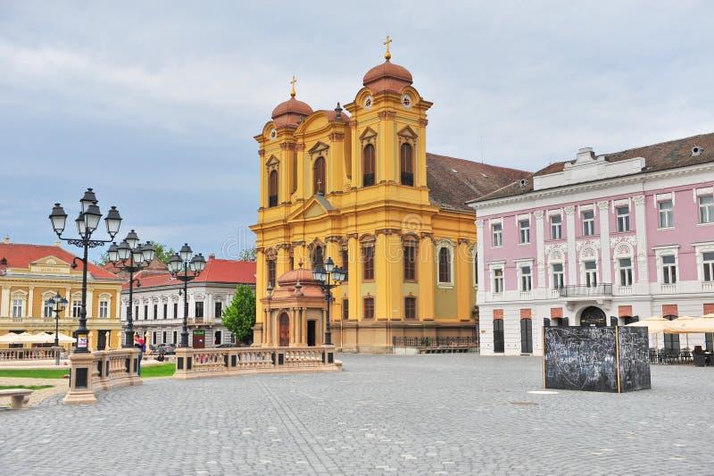 Timisoara old town. View of Timisoara old town, Romania stock photo