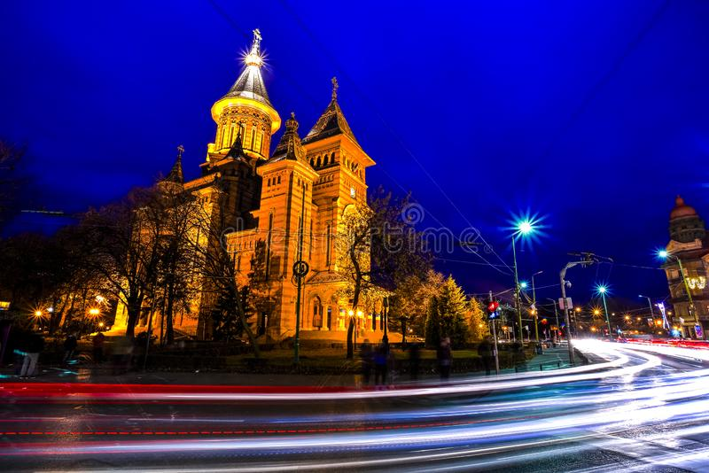 Timisoara Orthodox Cathedral, Romania royalty free stock images
