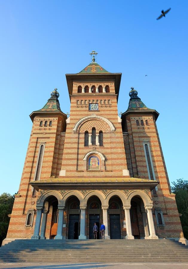Orthodox Metropolitan Cathedral In Timisoara, Romania stock images