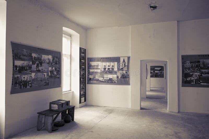 Timisoara revolutionmuseum, Rumänien fotografering för bildbyråer