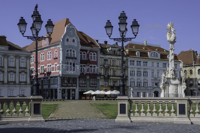 Timisoara, romania, europe, union square royalty free stock images